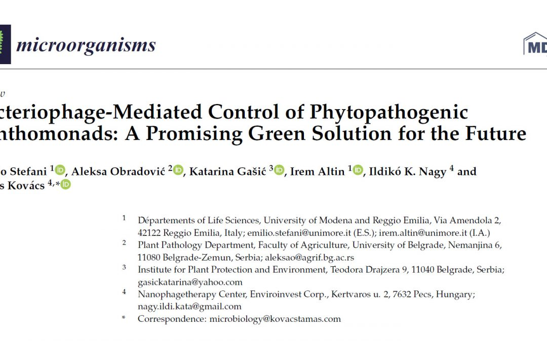 Új cikkünk a Microorganisms szaklapban
